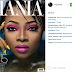 Awww!!! Maje Ayida shares Toke Makinwa's Mania mag cover on his instagram page