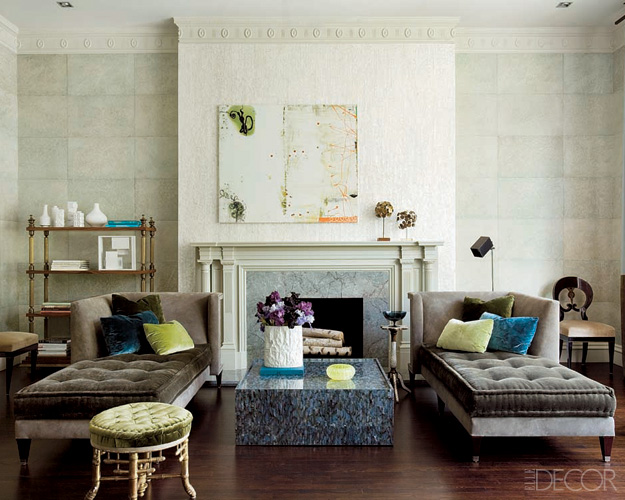 Color Outside the Lines: A Chaise ... for the Living Room?
