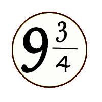 Logo le 9 3/4 le café des petits sorciers Brest