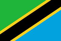 Logo Gambar Bendera Negara Tanzania PNG JPG ukuran 200 px