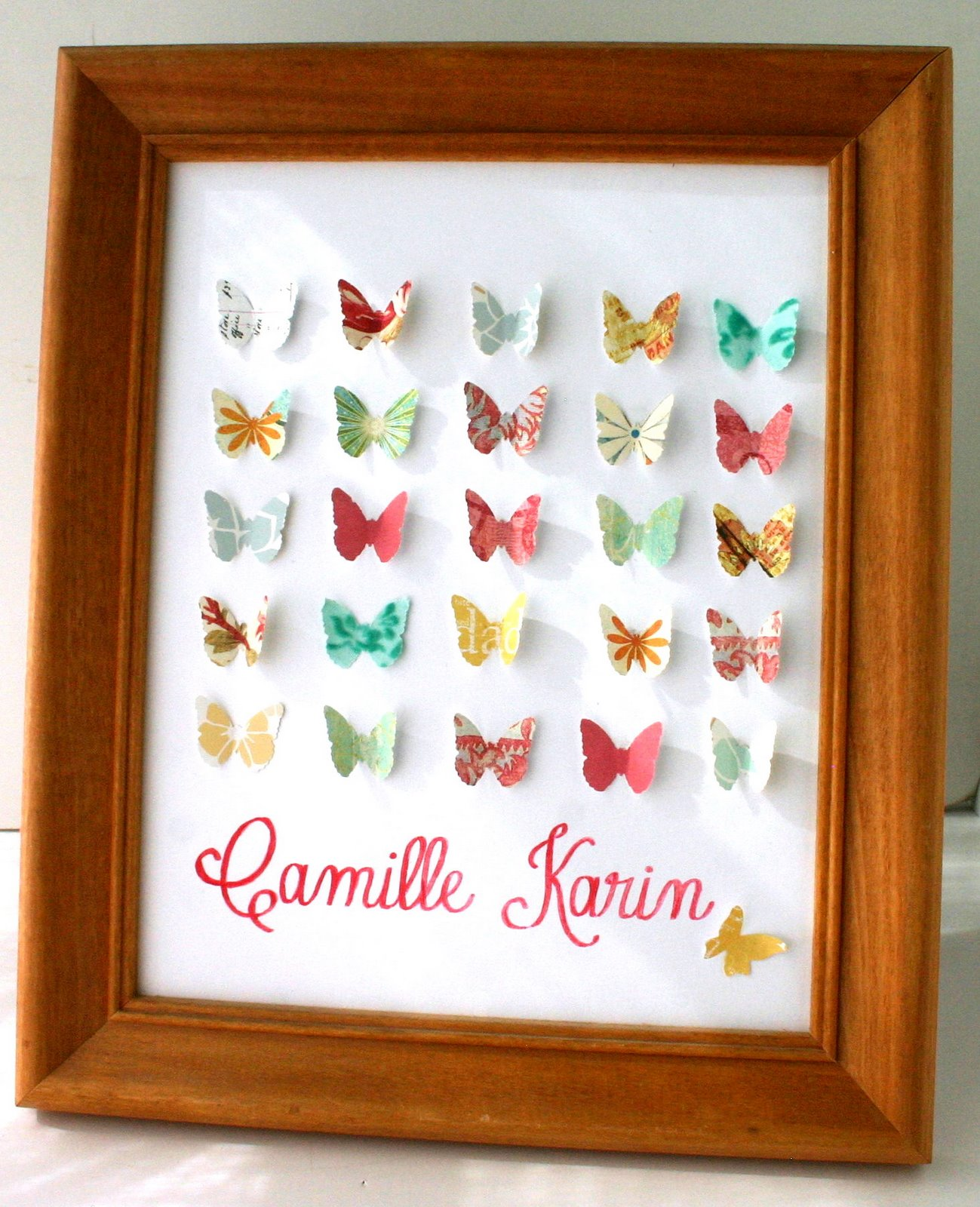 Girl Baby Shower Butterfly Theme