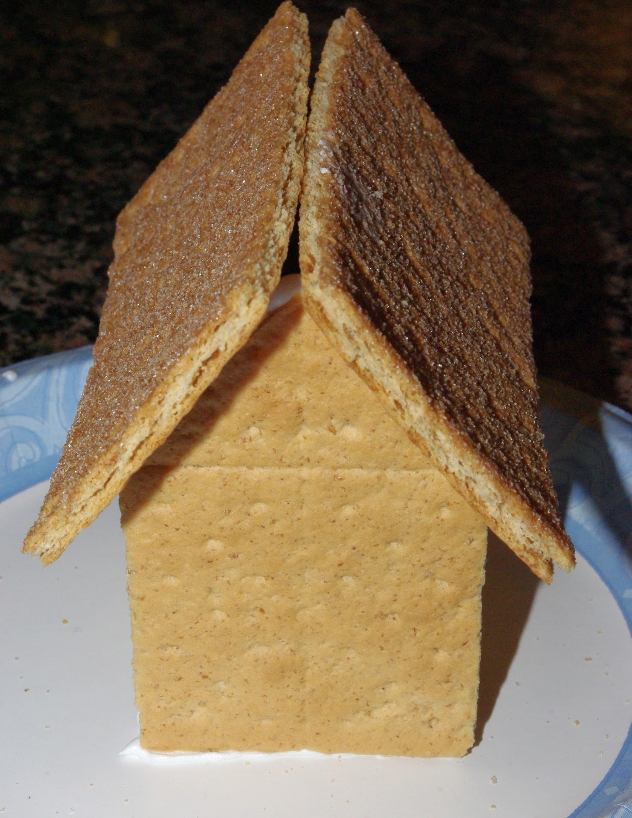 Graham Cracker Gingerbread Houses Tutorial Happiness