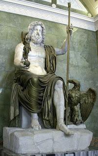Jupiter Zeus entspricht Amun Ra und Indra