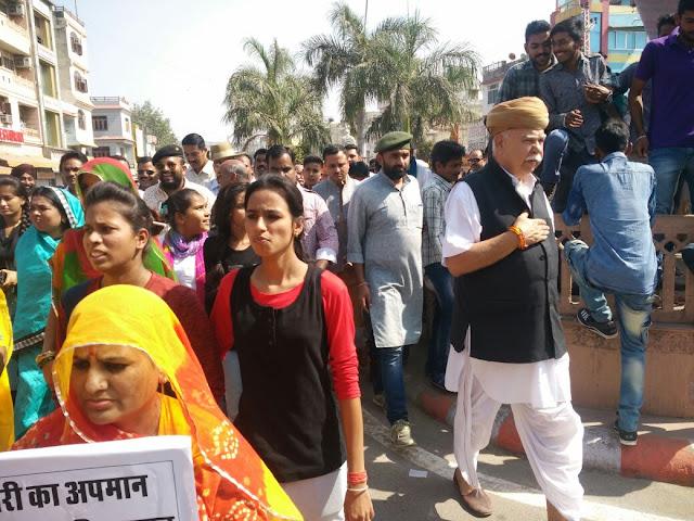 Padmavati karni sena protest