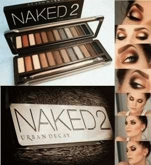 Naked 2 Eye Shadow Urban Decay Pallete