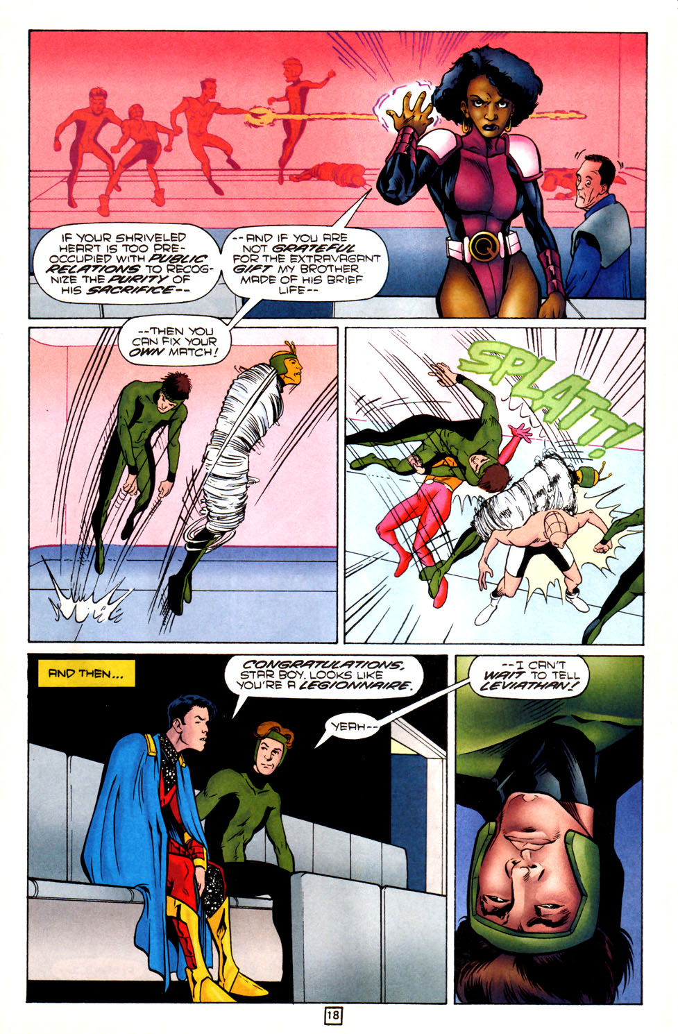 Legion of Super-Heroes (1989) 82 Page 18