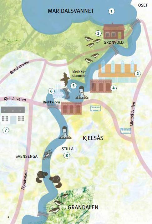 akerselva vandring kart Markablogg: På tur langs Akerselva akerselva vandring kart