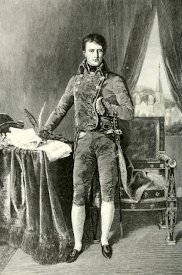Napoleon Bonaparte, First Consul from Life of   Napoleon Bonaparte by WM Sloane (1906)