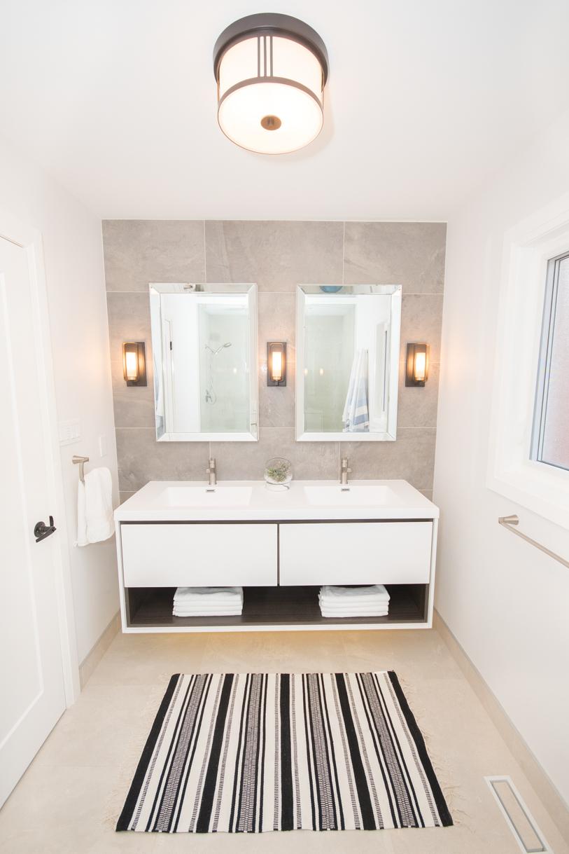 Luxury washroom renovation