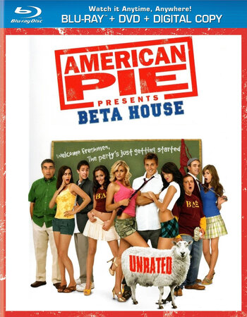 American Pie Presents Beta House (2007) Dual Audio Hindi 480p BluRay 300MB Movie Download