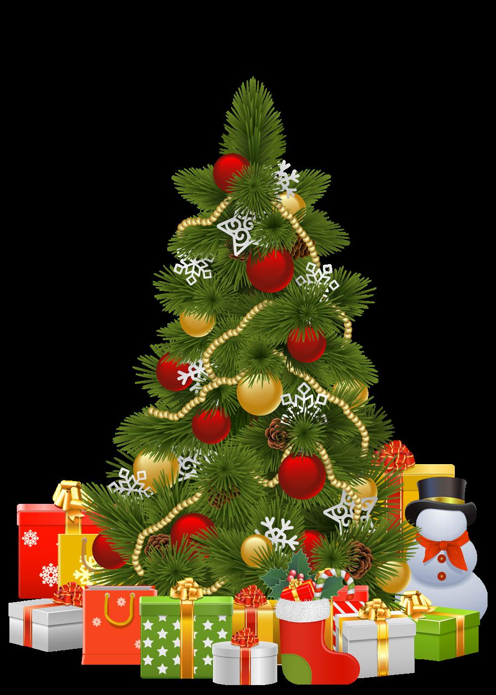 Cosas En Png 193 Rbol De Navidad Con Regalos