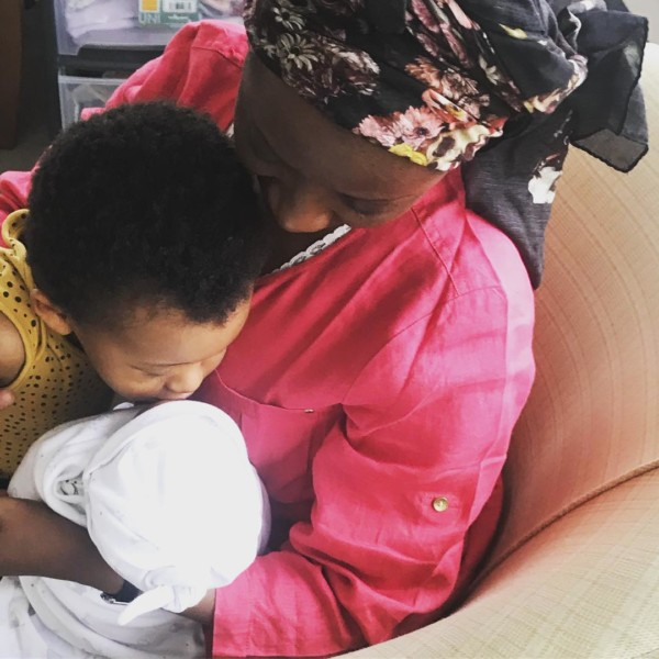 Mavin Act Dija Welcomes baby girl
