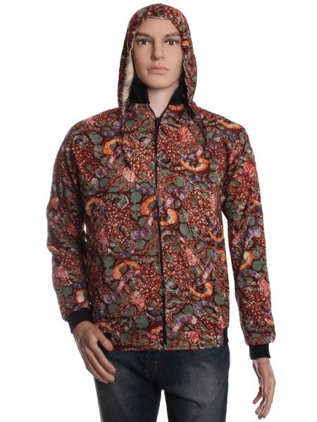 Model jaket Hoddie Batik Pria Murah Grosir