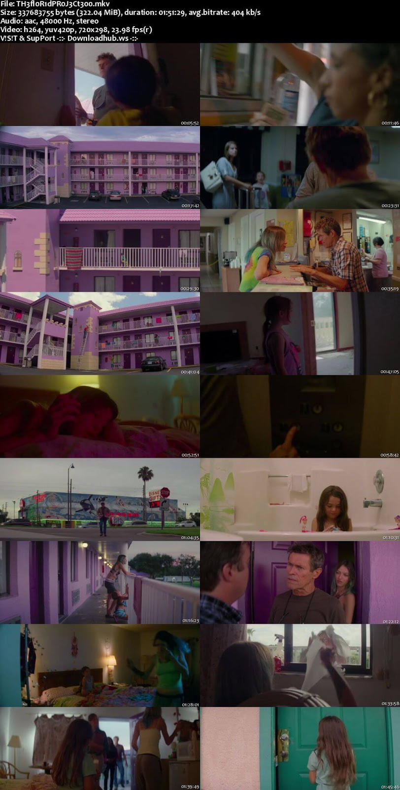 The Florida Project 2017 English 480p Web-DL ESubs
