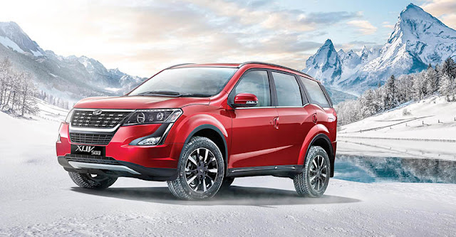 2018 New XUV 500 muscular SUV