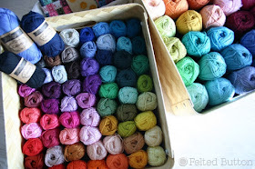 Scheepjes Catona and Cotton 8 yarn