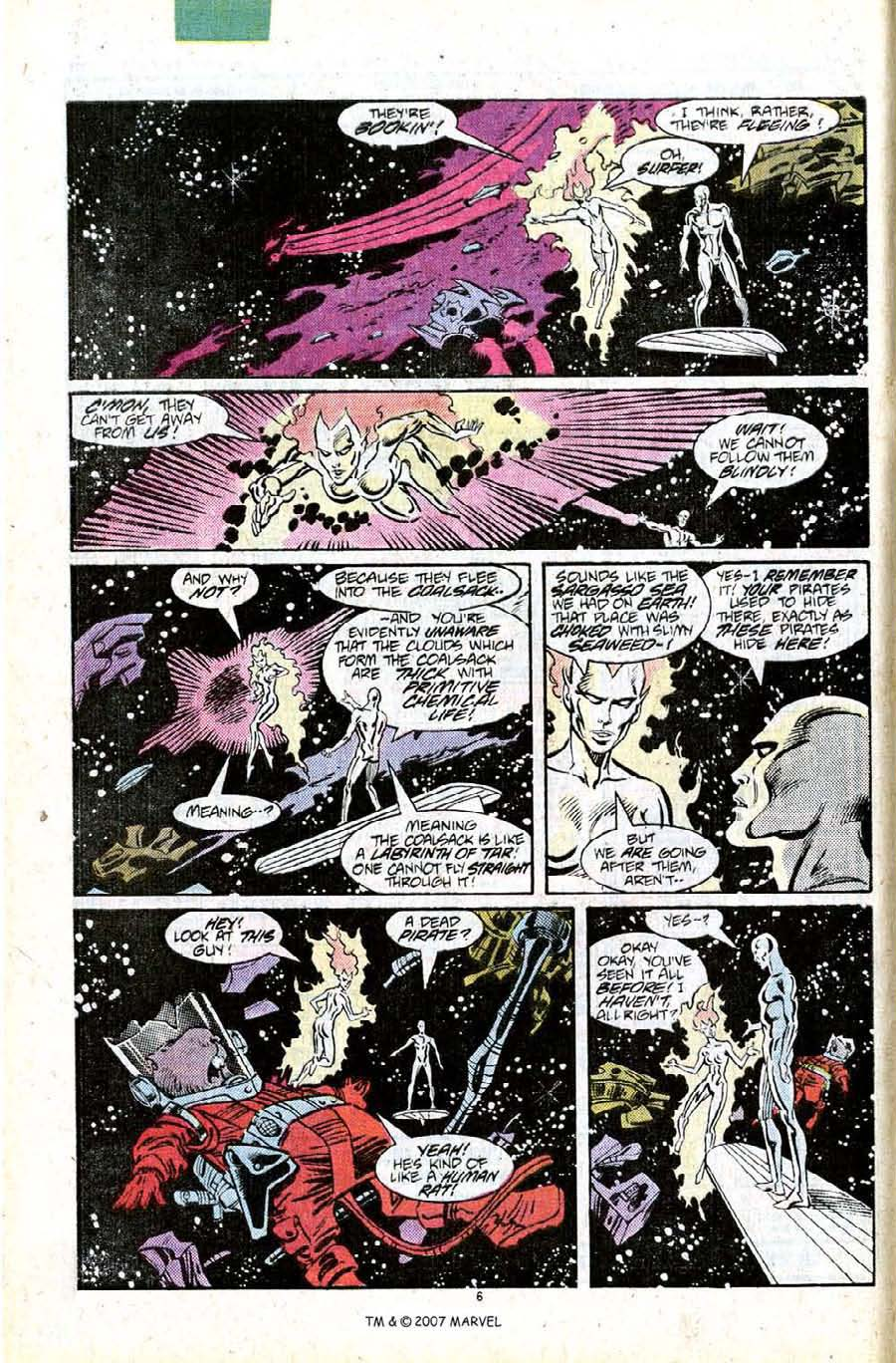 Read online Silver Surfer (1987) comic -  Issue #11 - 8