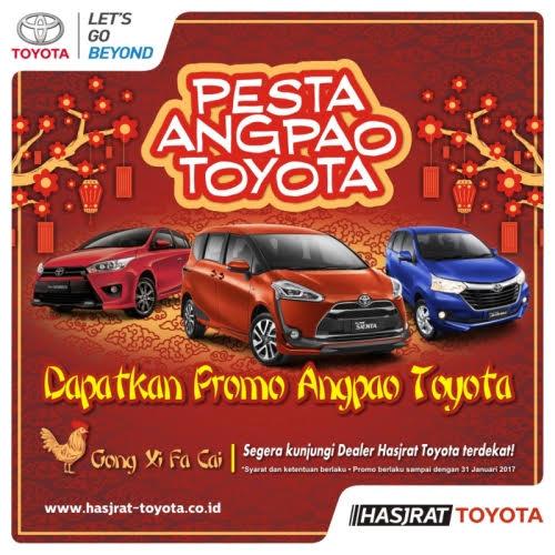 Promo Angpao Toyota Manado Imlek 2017