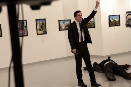 Penembak Dubes Rusia adalah Polisi Anti Hura Hara Yang Masih Berusia 22 Tahun