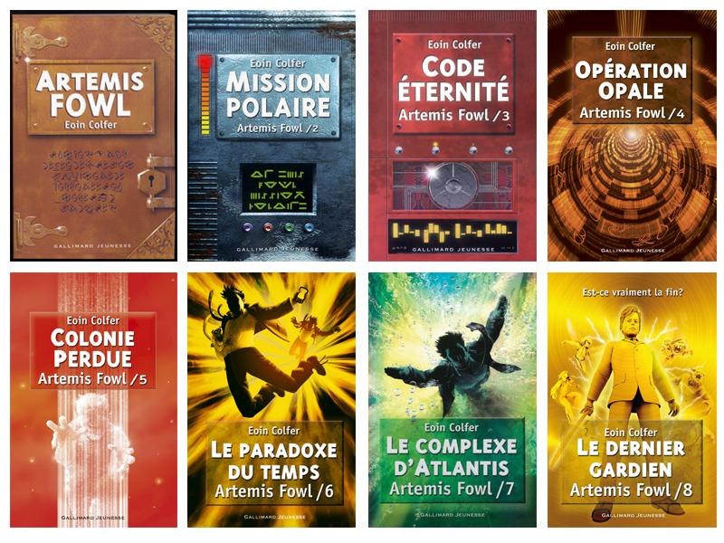 Bois De Merveilles Covers Around The World Artemis Fowl Series