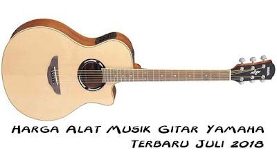 Harga Alat Musik Gitar Yamaha Terbaru Juli 2018