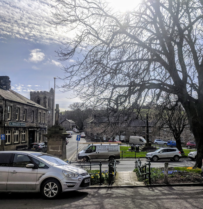 Rothbury Riverside Walk, Picnic Spots & Playground  - rothbury town centre