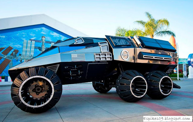 Off Roading Near Me >> This Futuristic Concept Mars Rover Looks Like an Awesome NASA Tank - Techno world