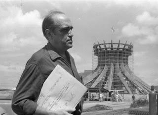Оскар Нимейер - главный архитектор Бразилиа
