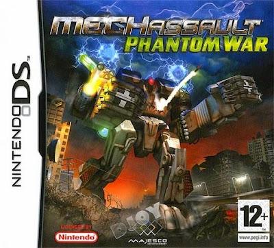 MechAssault – Phantom War (Nintendo DS) (Español)
