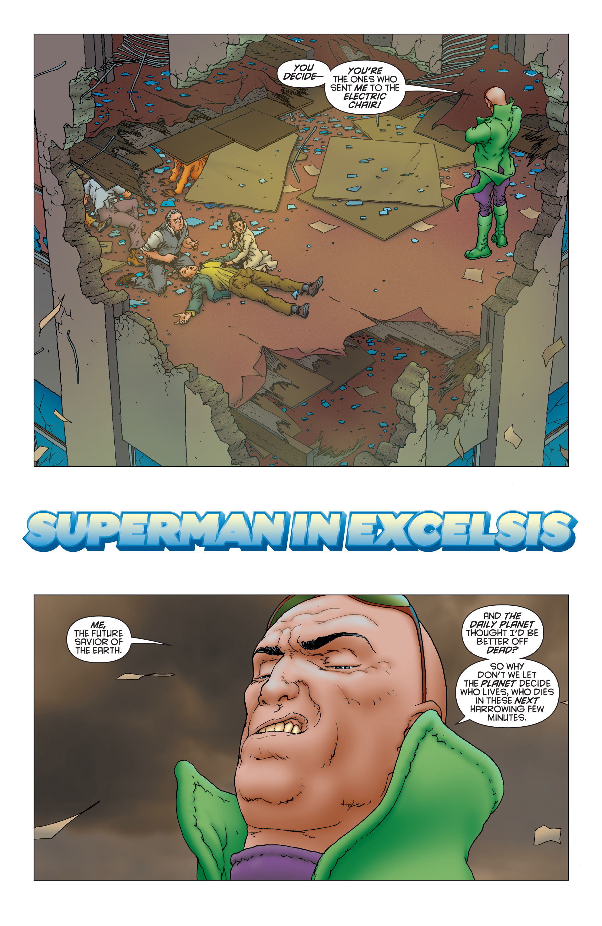 Read online All Star Superman comic -  Issue #12 - 5