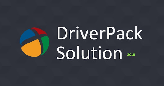 DriverPack Solution 2018 (DRP 18) Free Download