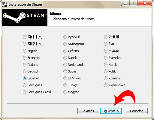 Descargar e Instalar STEAM para Dota 2