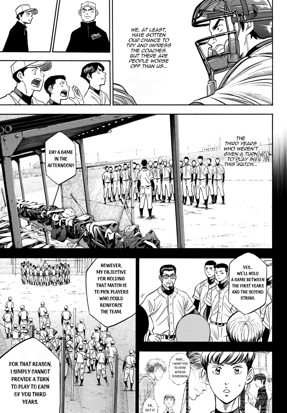 Daiya no A - Act II - Chapter 54