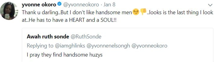 Chinyere Yvonne Okoro Fuels Lesbianism Rumour For Saying Most Handsome Men Are Deceptive
