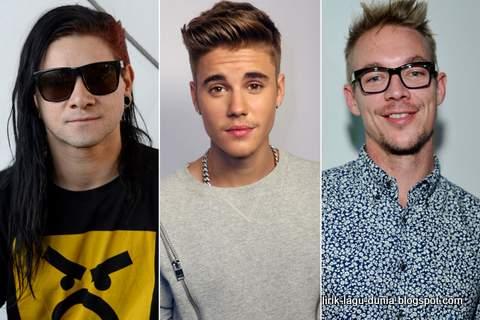 Justin Bieber, Diplo dan Skrillex