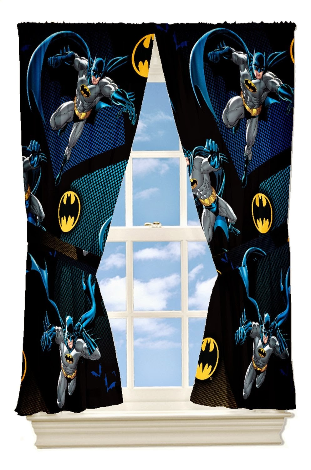 Bedroom Decor Ideas and Designs: Batman Themed Bedroom Decorating ...