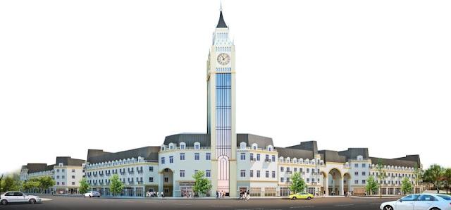 Tháp đồng hồ liền kề La Casta HiBrand Văn Phú
