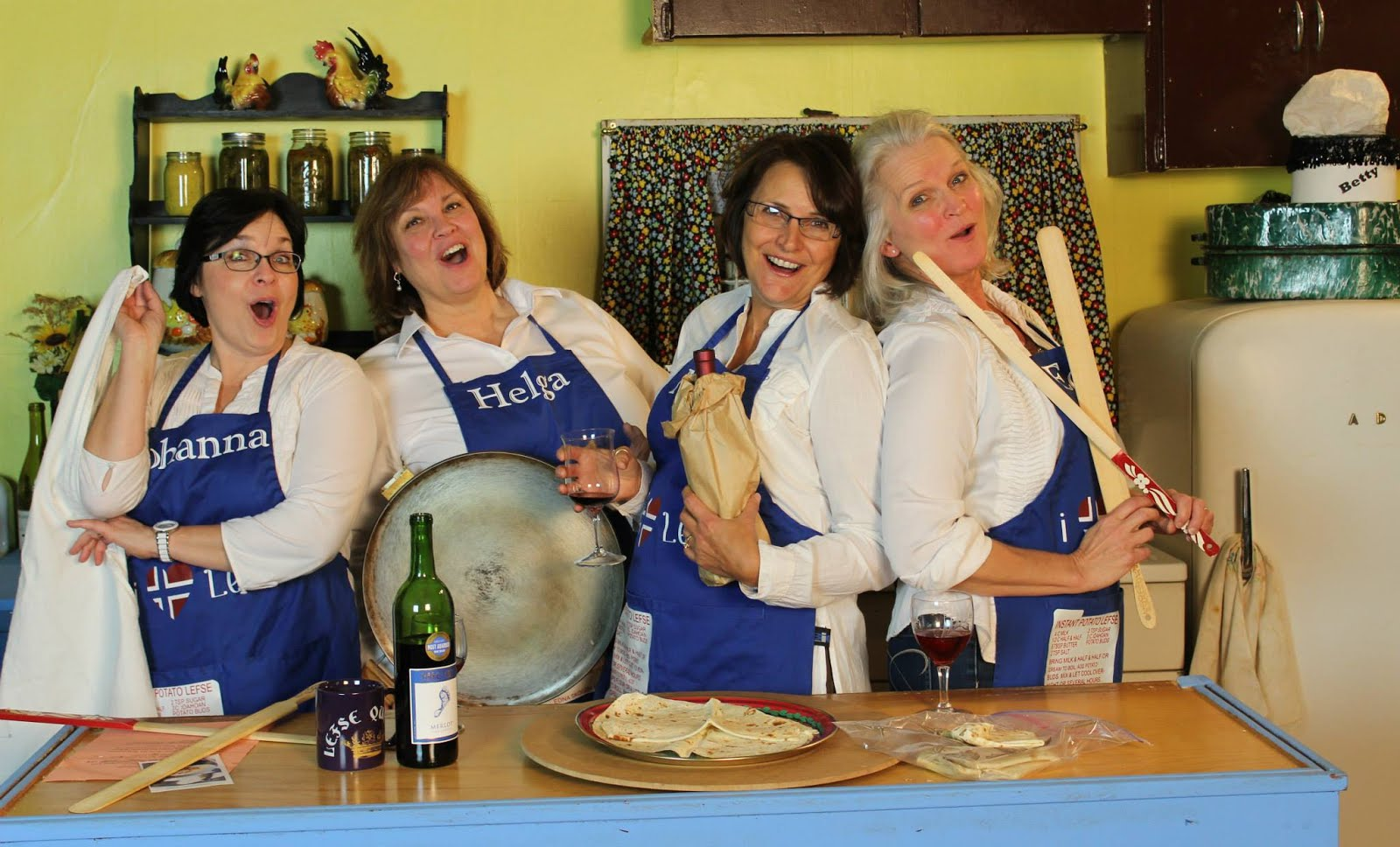 Lefse is our life states The Real Housewives of Sweet Swine County!
