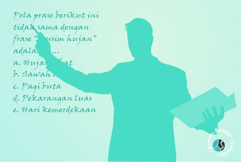 anggota dewan perwakilan rakyat untuk menelaah lagi perundang MODEL SOAL SBMPTN TENTANG TATA KALIMAT SINTAKSIS 1