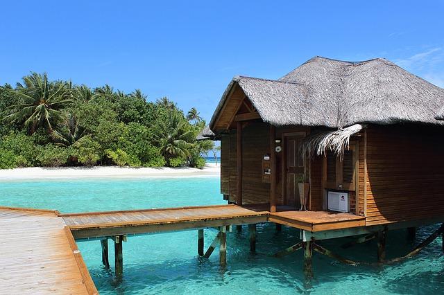 Water villa barata en Maldivas