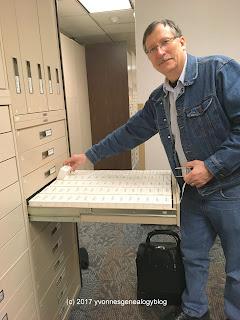 FHL microfilm cabinet