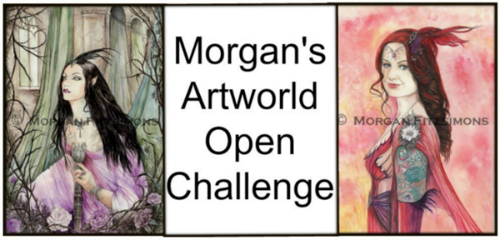 Join our Open Monthly Challenge at Morgan's Artworld