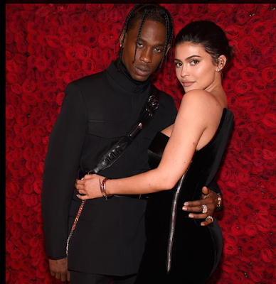 Kylie Jenner's long-term boyfriend Travis Scott,