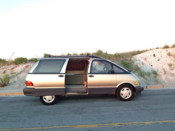 Home On The Range: 1995 Toyota Previa SC/LE Camper