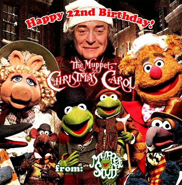 Muppet Stuff: Happy 22nd Birthday Muppet Christmas Carol