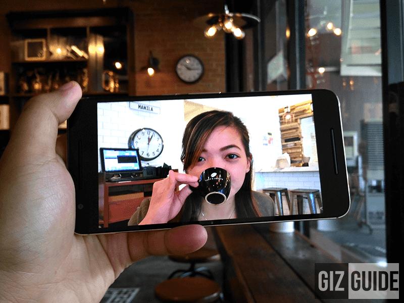 Vivid and vibrant screen of Nexus 6P