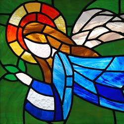 Click below for my Angel Stained Glass Window
