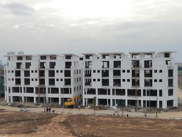 Khai Sơn Town đang đi vào hoàn thiện