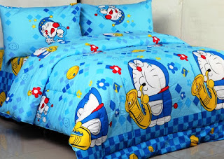Contoh Seprei Motif Doraemon - Kamar Anak 200162