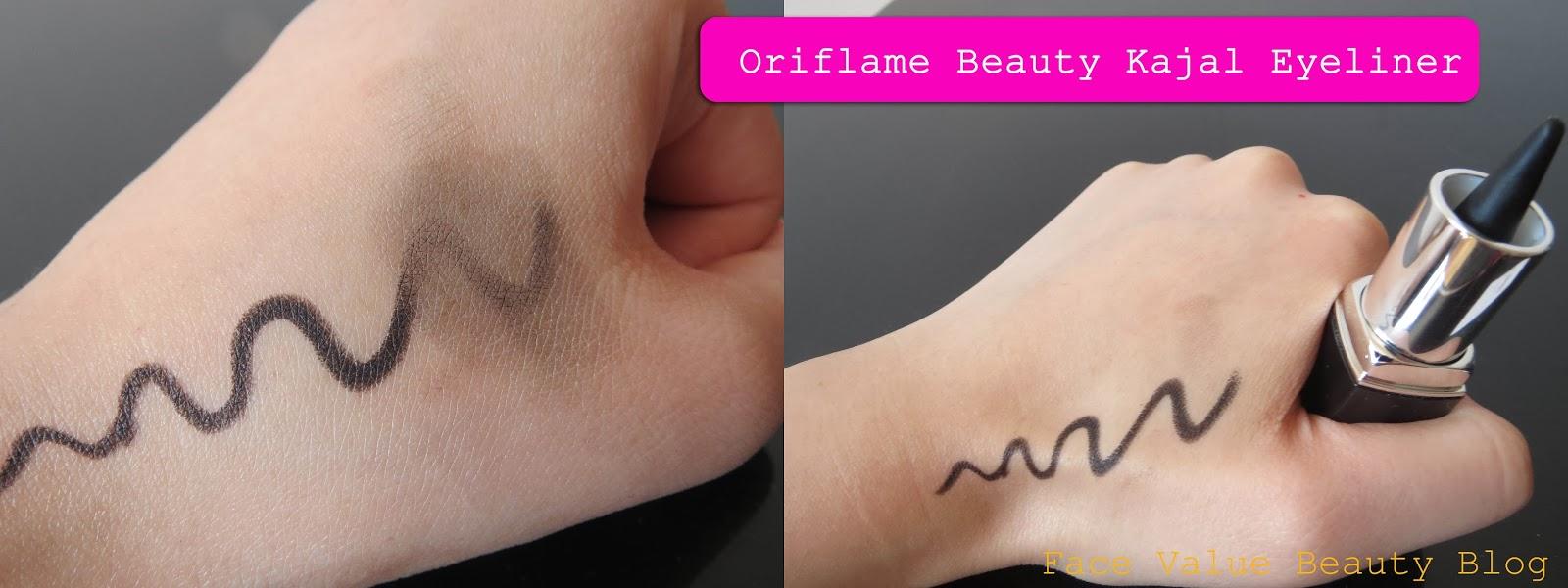 Oriflame Beauty Kajal Eyeliner Blog Makeup